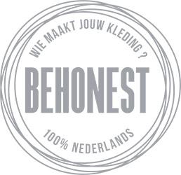 De Reuver knitted fashion BeHonest logo